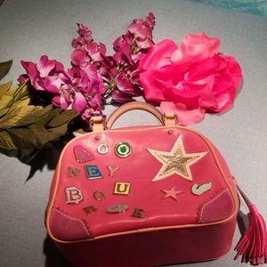 Dooney and bourke pink bag